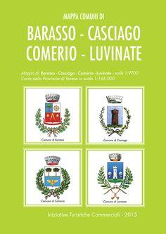 Il fronte mappa dell'edizione 2015 dei comuni di Barasso, Casciago, Comerio e Luvinate