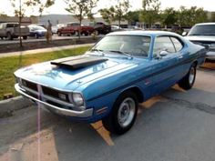 1971 dodge demon with really nice white in interior and a 340 1971 Dodge Demon, Classic Cars Usa, Plymouth Cars, Mopar Or No Car, Dodge Dart, Muscle Cars, Cool Cars, Really Cool Stuff, Racing