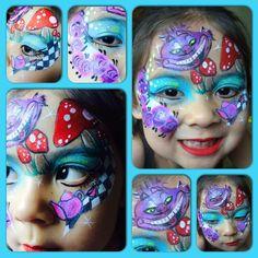 Twinkle Face Painting- Alice in Wonderland
