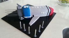 Thunderbirds 1 cake for my 6yr old boy!!!!