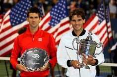 Novak Djokovic & Rafa Nadal US Open: Day 15