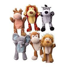 Jungle Hand Puppets