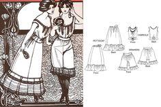 Folkwear's Edwardian Underthings camisole