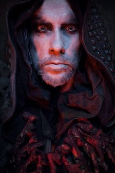 Adam 'Nergal' Darski of Behemoth, for Terrorizer by steve brown, via Behance