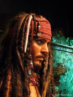 Captain Jack Sparrow - gotta see the full set of these now that the 6yo boy in my life has seen POTC