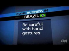 business customs in brazil This paper will analyze the business culture in brazil by answering these questions in great detail running head: global business cultural analysis: brazil 24 swot analysis strength weakness location- borders 10 nations.