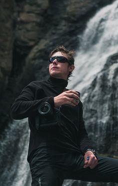 Иван Григорьев, Кавказ, Эльбрус, водопад девичьи косы.