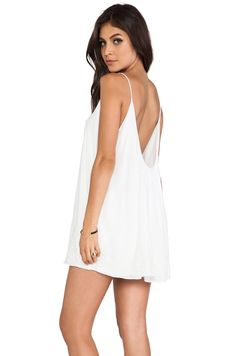 Lovers + Friends Fly Away Mini Dress in White from REVOLVEclothing