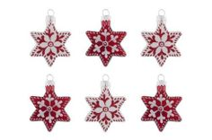 Christbaumkugel 6er Set Sterne, rot/weiss Gift Company von Giftcompany GmbH, http://www.amazon.de/dp/B00BL4WL5Q/ref=cm_sw_r_pi_dp_oejRsb1S7F5EG