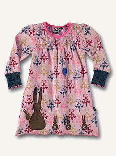 """Bunny dress - print """"my best friend"""""""