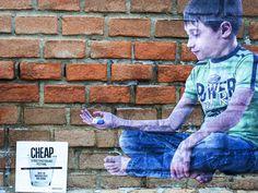 BIFIDO x CHEAP street poster art 2015 www.cheapfestival.it