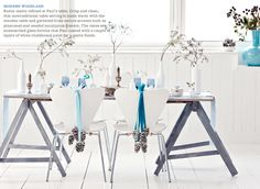 BHG: A Woodland-Inspired Blue Christmas - Bright Bazaar by Will Taylor