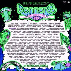 ROO 2014 !!! ugh... the best lineup ever.. and the best summer ever <3