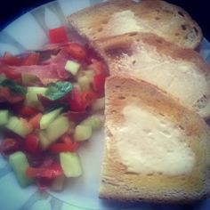 Salad with Schwarzwald ham :)