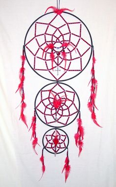 A dreamcatcher I made for my son in 2003.