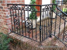 Custom Wrought Iron Residential Railings Raleigh Wrought Iron Co.