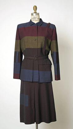 Wool Suit - Gilbert Adrian - 1948
