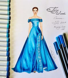 654 個讚,3 則留言 - Instagram 上的 NataliaZ.Liu(@nataliazorinliu):「 Magnificent Tony Ward couture gown ⚜️(Couture collection Spring Summer 2017) @tonywardcouture… 」