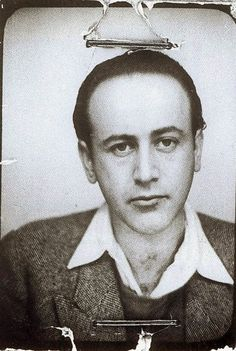Paul Celan and the Meaning of Language - An Interview with Pierre Joris Paul Celan, Rene Char, Most Famous Poems, Vintage Photo Booths, Writers And Poets, Book Writer, Historical Pictures, Artistic Photography, Vintage Photographs