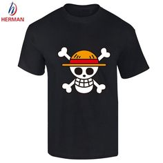 One Piece T-Shirt - Strawhat Pirates Logo