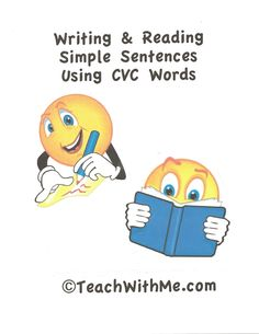 Reading and Writing Simple Sentences With CVC Words