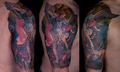 tatuagem de São Miguel 5