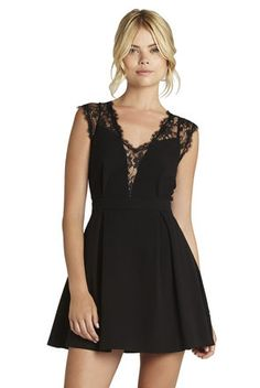 BCBGeneration - Lace-Trim Dress $138.00