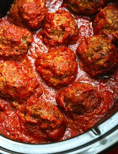 Gluten Free Slow Cooker Meatballs