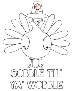 Get these free Thanksgiving coloring pages for preschool children (and adults too!) that you can print right away for hours of fun with your family. Free Thanksgiving Coloring Pages, Free Thanksgiving Printables, Easy Coloring Pages, Thanksgiving Crafts For Kids, Thanksgiving Activities, Free Printable Coloring Pages, Free Printables, Party Printables, Fall Crafts