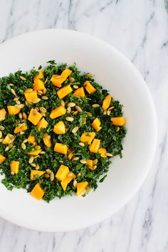 Use this dressing with Arugula, mango and strawberries. ~ Massaged Kale Salad with Mango and Pepitas (use the smooth kale if you try the kale version).