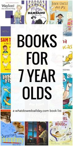 Chapter book list for 7 year old boys and girls