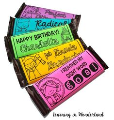 Create custom classroom awards with these editable chocolate wrappers! Beginning Of School, Back To School, Classroom Activities, Classroom Ideas, Classroom Rewards, Classroom Management, Class Management, Reading Strategies, Getting Organized