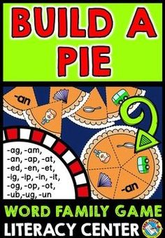 #LITERACY #THANKSGIVING #ACTIVITIES: #BUILD A #PUMPKIN #PIE: #WORD #FAMILY #GAME