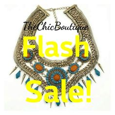 A must have statement necklace!!  Other items may ship for FREE when purchased with this item.  28 | Shop this product here: http://spreesy.com/TheChicBoutique/182 | Shop all of our products at http://spreesy.com/TheChicBoutique    | Pinterest selling powered by Spreesy.com