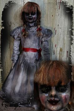 40″ Annabella Doll Prop « creepycollection Haunted House Halloween props