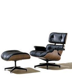 Charles Eames Lounge Chair and Ottoman Photograph