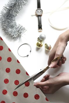 Wrap your gifts with a curious touch this holiday. @Fossil has great accessories to wrap up!