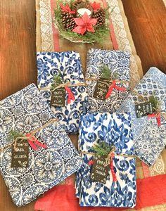 Manteles como regalo de Navidad, exclusivos by La Tienda Deco&Ideas.