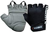 Bestsellers in Mens Fashion #5: KOBO Fitness Gloves / Weight Lifting Gloves / Gym Gloves / Bike Gloves (Imported) #FabOffersIndia