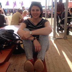 Carys Mair a'u clocs newydd - Eisteddfod Genedlaethol Maldwyn a'r Gororau 2015