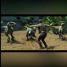 Jurassic World Raptor Squad