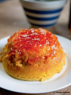 Monty Don's marmalade pudding - warm and citrusy, perfect winter pud!