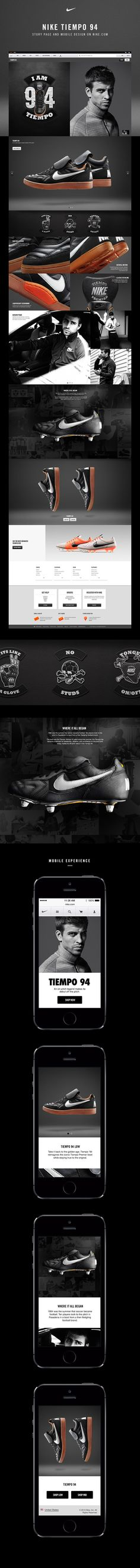 Nike Tiempo 94 by Ryan Mendes https://www.behance.net/gallery/20516963/Nike-Tiempo-94?utm_medium=email&utm_source=transactional&utm_campaign=project-published
