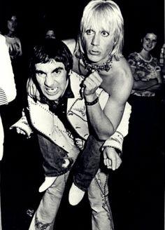 Keith Moon & Iggy Pop