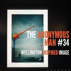 The Anonymous Man was a special guest at #infocus #nzipp and as such we were asked to create a Wellington inspired image. #theanonymousmanseries - - If you would like a copy of this image click the link in the bio and get one from our GoFundMe Campaign.