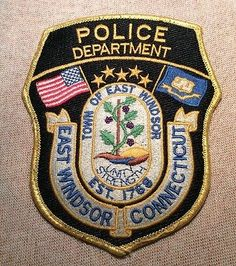 CT East Windsor Connecticut Police Patch