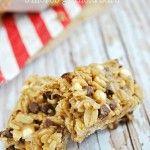 Homemade Peanut Butter & S'mores Granola Bars