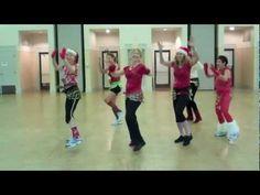 "▶ ""Jingle Bell Rock""- Dance Fitness - YouTube  I absolutely need a jingle skirt!"