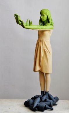 Paris Art Web - Sculpture - Willy Verginer by Paris Art Web, via Flickr