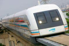WORLDS FASTEST TRAINS - MAGLEV - magnetic levitating trains using electromagnetic force